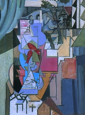 Emil Filla: The Gold Fish by the Window / 1916 / oil on canvas / 69 x 54 cm / 8 030 000 Kč / Antikva Nova Kold 4. 6. 2000