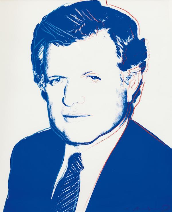 Andy Warhol: Edward Kennedy, 1980,