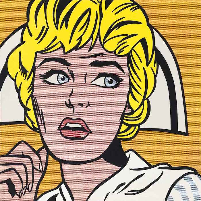 roy licHtenstein: nurse / 1964