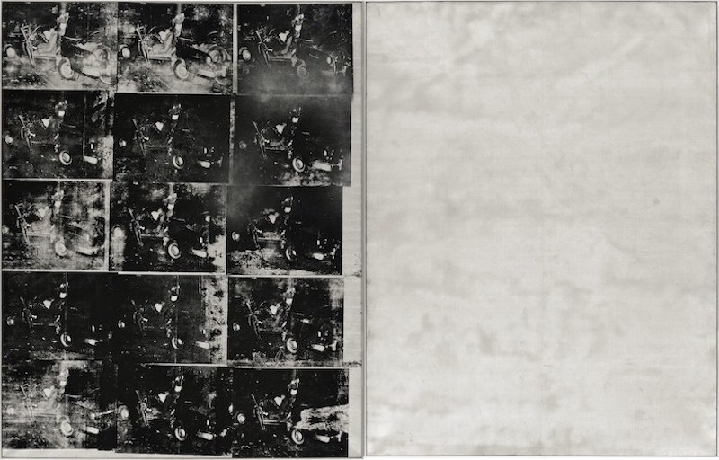 Andy Warhol: Silver Car Crash, 1963