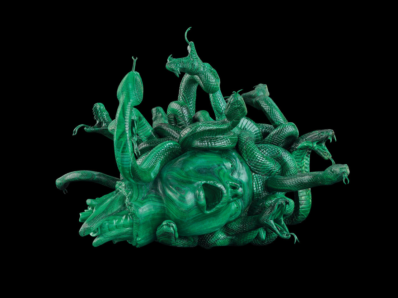 'The Severed Head of Medusa' Photographed by Prudence Cuming Associates  © Damien Hirst and Science Ltd. All rights reserved, DACS 2017