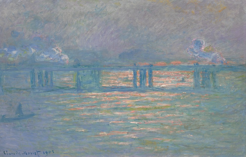 Claude Monet: Charing Cross Bridge, 1903