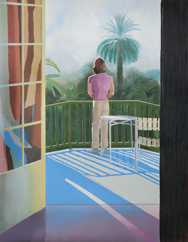 David Hockney: Sur la Terrasse, 1971
