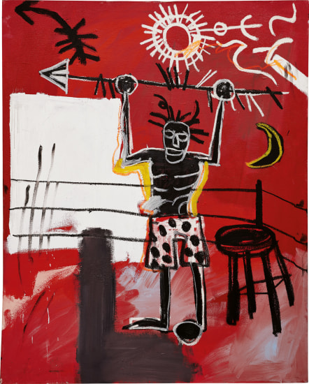 Jean-Michel Basquiat: The Ring, 1981