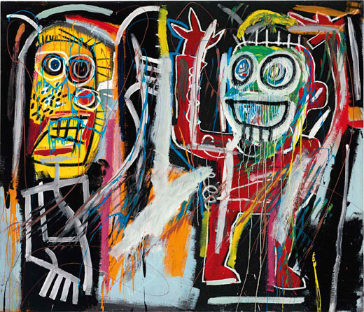 Jean-Michel Basquiat: Dustheads / 1982