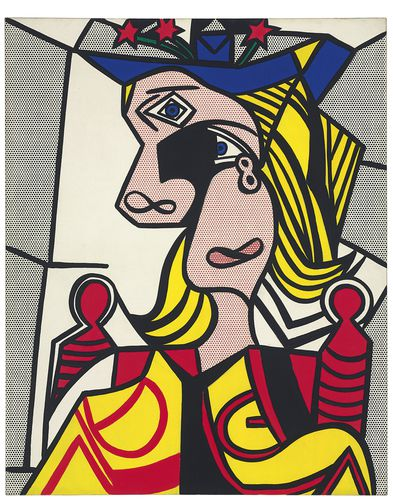 Roy Lichtenstein: Woman with Flowered Hat / 1963