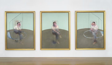 Francis Bacon: Three Studies for a Portrait of John Edwards / 1984  198,3 x 148 cm /  80 805 000 /  Christie´s 13. 5. 2014