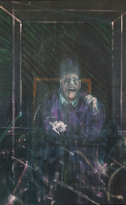 Francis Bacon: UNTITLED (POPE) / 1954