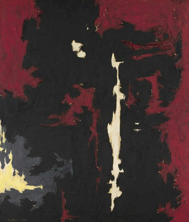 Clyfford Still: 1949-A-No. 1