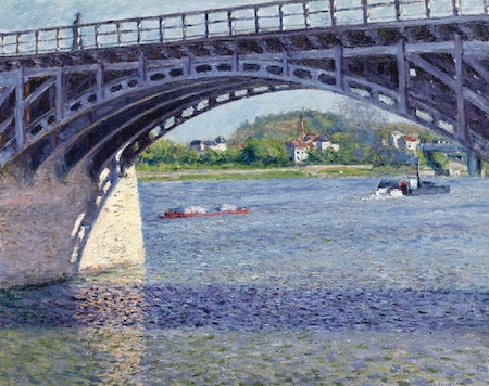 Gustave Caillebotte: Most v Argenteuil a Seina