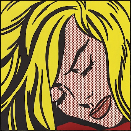 Roy Lichtenstein: Sleeping Girl